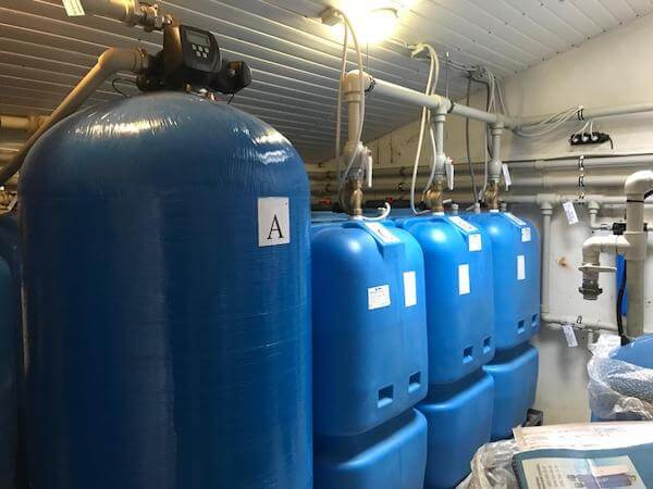 Система очистки воды для санатория